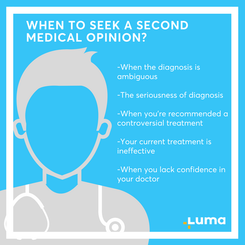 WHEN TO SEEK A SECOND MEDICAL OPINION_