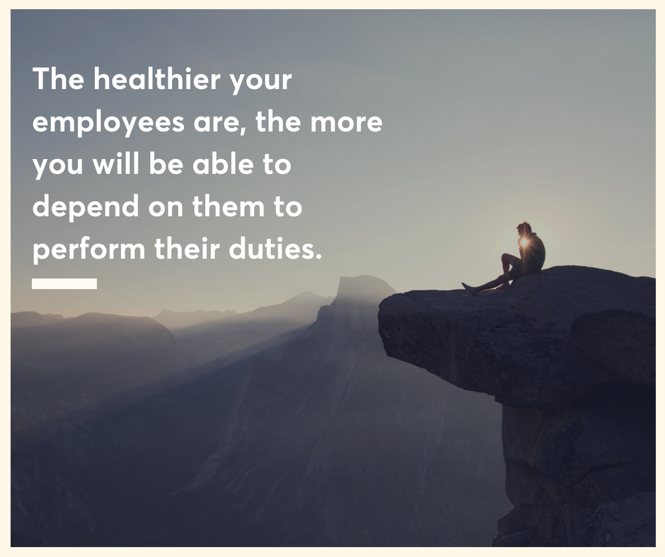 The healthier your employees are