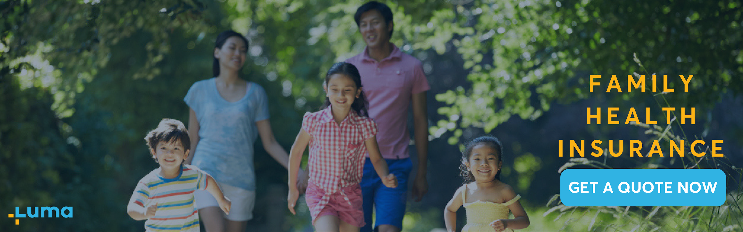 Get a quote for Family Health Insurance