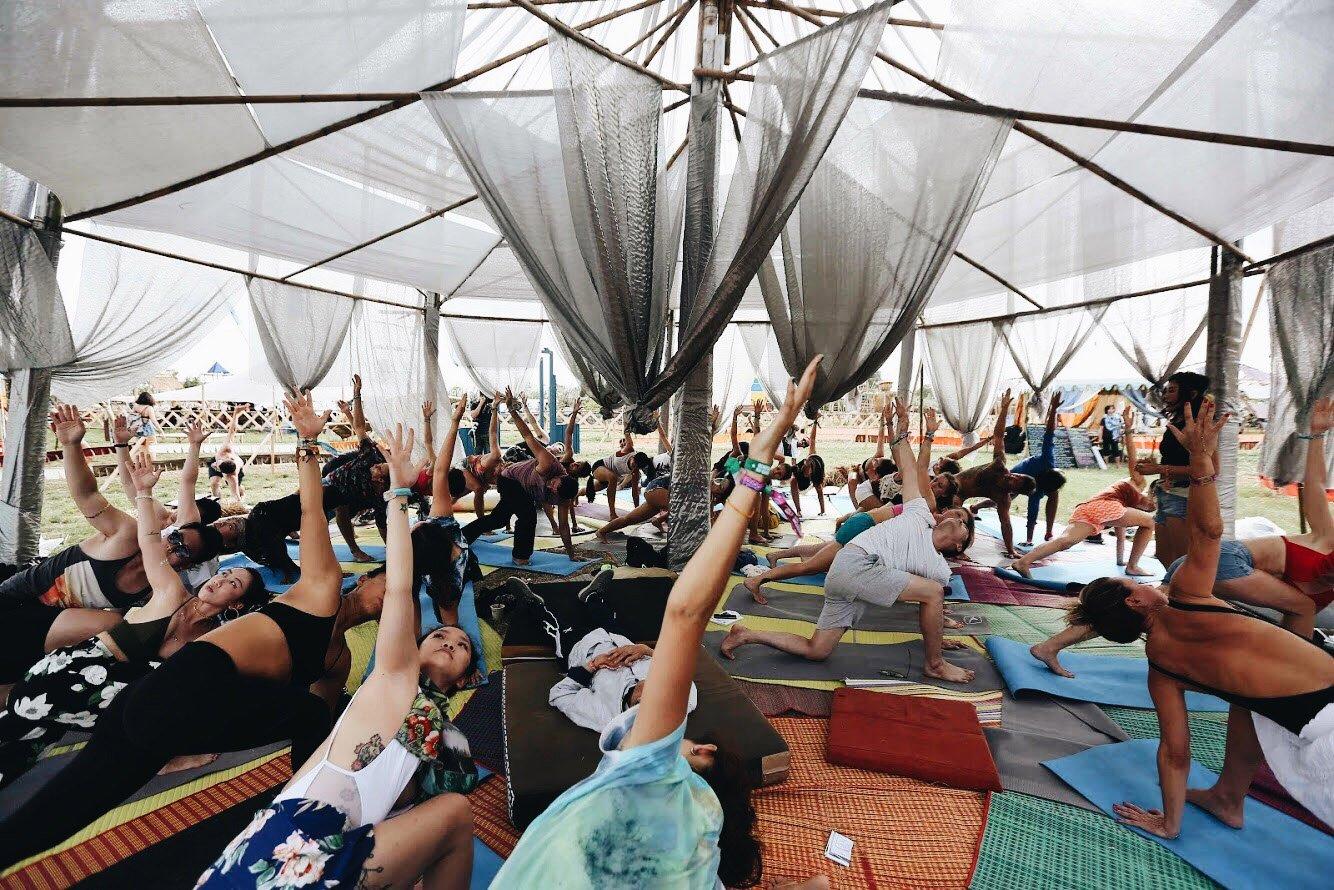 Yoga Photo by Wonderfruit