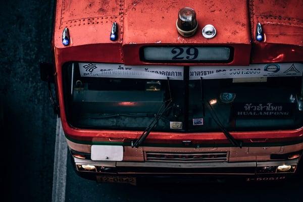 bangkok bus fumes pollution