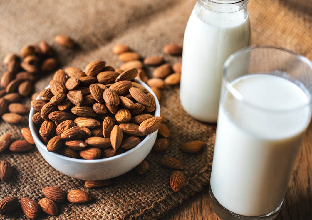 almond milk - lactose free alternative thailand