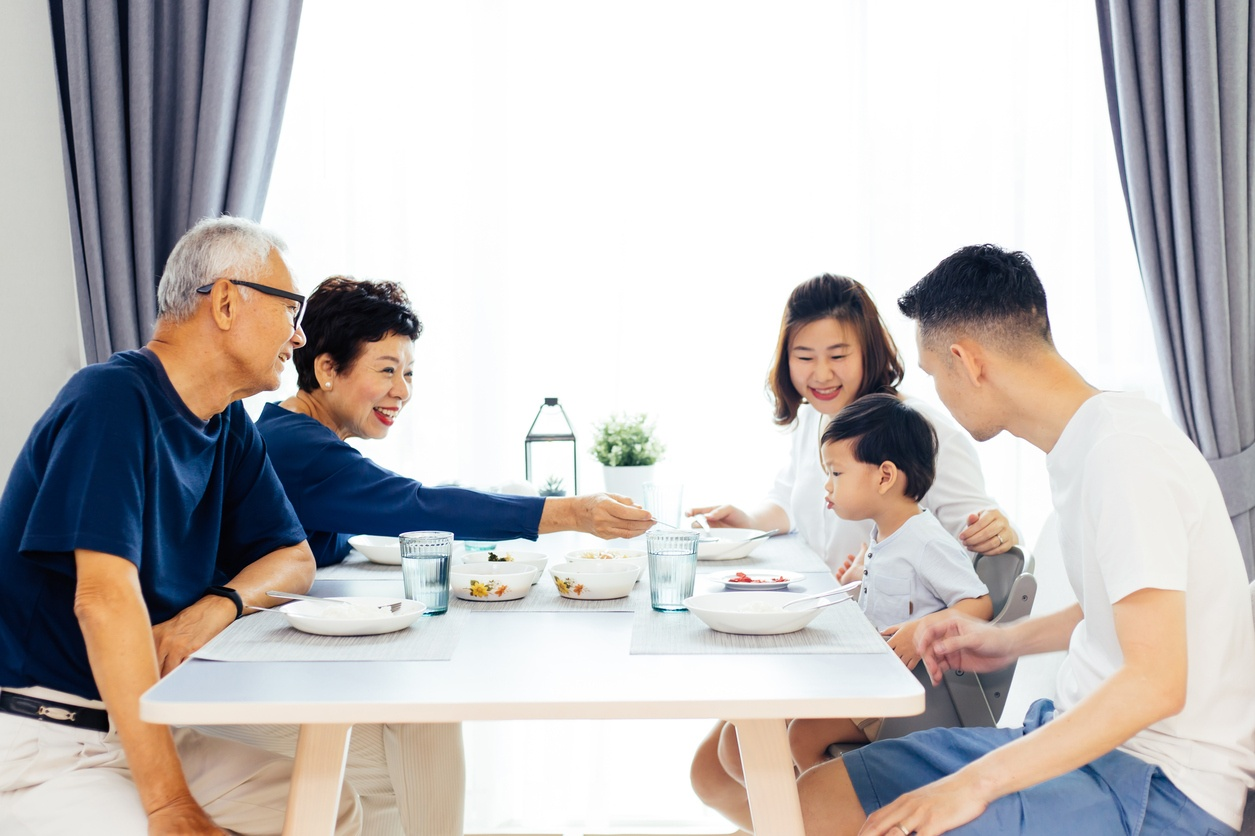 family health meal enjoy together benefits