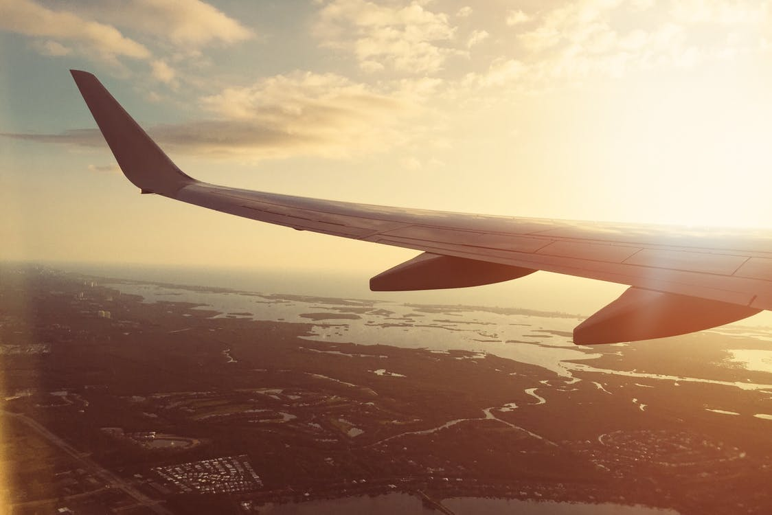 oxygen levels while flying health