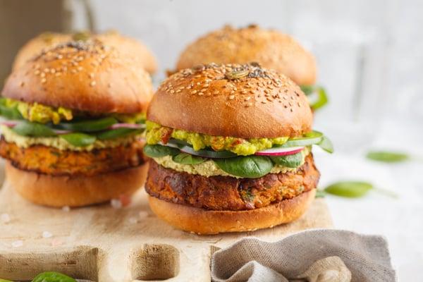 Vegetarian Burger Bangkok