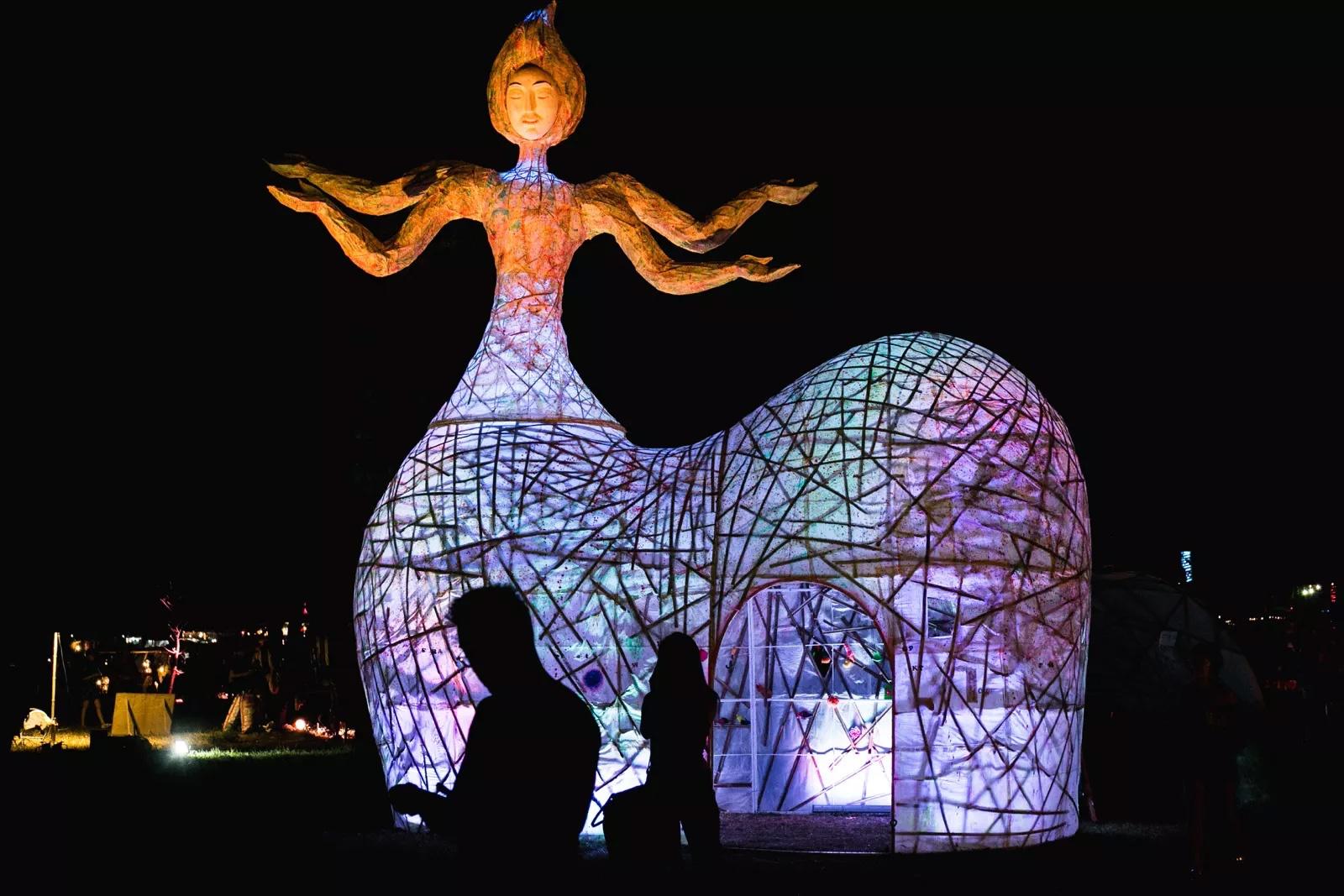 wonderfruit festival art and health