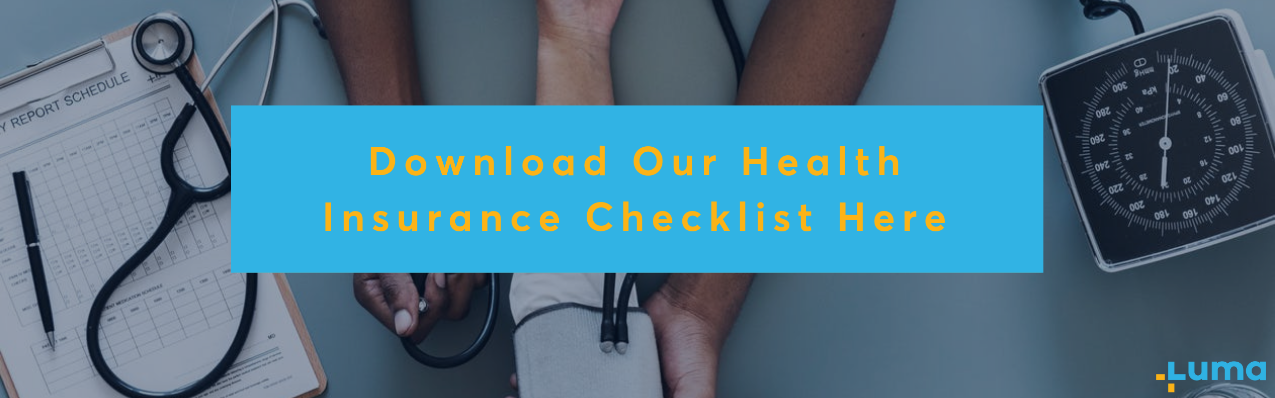 health insurance checklist