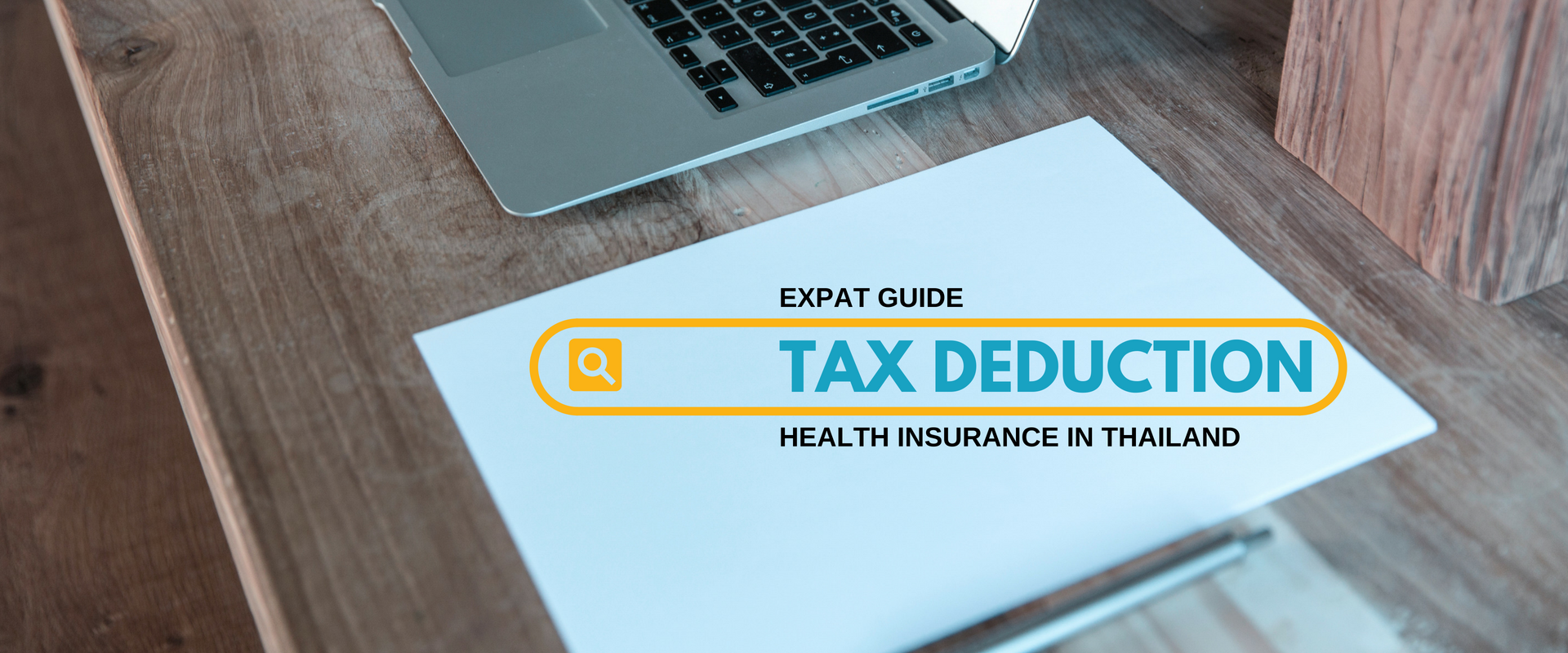 Tax deduction - banner